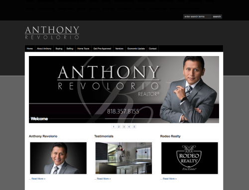 Anthony Revolorio Realtor